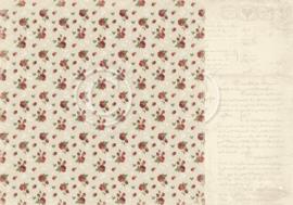 PD6806 Scrappapier dubbelzijdig - To My Valentine - Pion Design