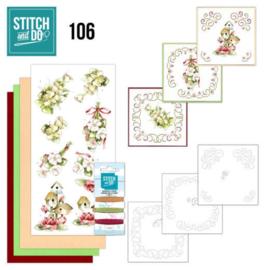 Stitch en Do nr. 106 - Flowers