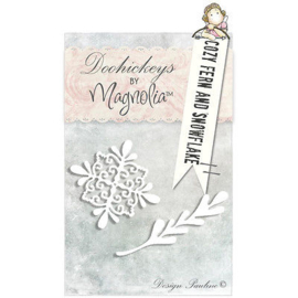 Doohickey Cozy Fern and Snowflake - Collectie 2012 - Magnolia