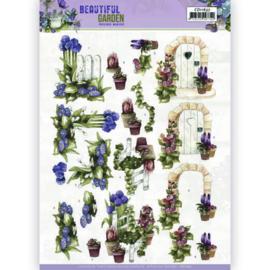 CD11637 3D vel A4 - Beautiful Garden - Marieke Design