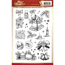 PMCS10045 Clearstempel - Touch of Christmas - Marieke Design