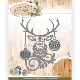 PM10101 Snij- en embosmal - The Nature Christmas - Marieke Design