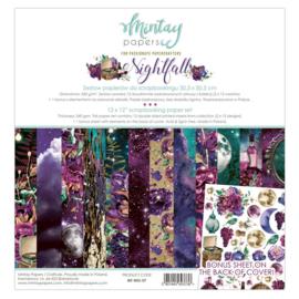 Mintay Papers - Nightfall - Paperpad 30.5 x 30.5 cm - MT-NIG-07 - PAKKETPOST!