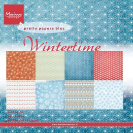 PK9100 Paperpad Wintertime  - Marianne Design