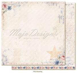 1032 Scrappapier dubbelzijdig - Denim en Girls - Maja Design