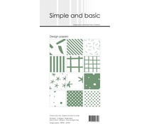 SBP901 Slim Paperpack 21x10cm - 24 stuks - Simple and Basic