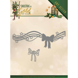 ADD10186 Snij- en embosmal - Christmas Gold - Amy Design