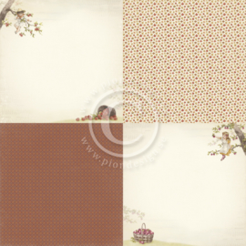 PD9703 Scrappapier - Summer Falls into Autumn - Pion Design
