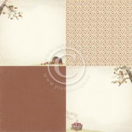 PD9703 Scrappapier - Summer Falls into Autumn - Pion Design