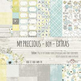 Paperpad 30.5 x 15 cm - My Precious Boy - Craft-O-Clock