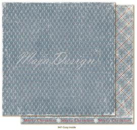 947 Scrappapier dubbelzijdig - Joyous Winterdays - Maja Design