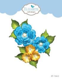 1872 Snijmal  Florals 11 - Elizabeth Craft
