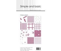 SBP909 Slim Paperpack 21x10cm - 24 stuks - Simple and Basic