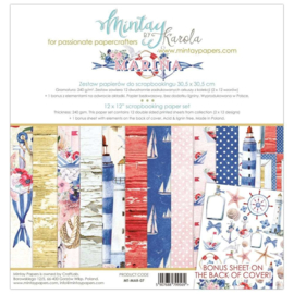 Paperpad 30.5 x 30.5cm - Marina - Mintay - PAKKETPOST!