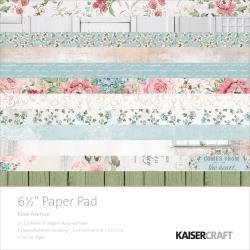 PP1030 Paperpad 16.5x16.5cm - Rose Avenue - Kaisercraft