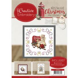 CB10018 Creative Embrodery  - Nostalgic Christmas- Amy Design