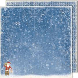 473 Scrappapier dubbelzijdig - Vintage Winter - Maja Design