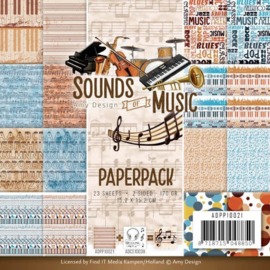 ADPP10021 Paperpad - Sound of Music - Amy Design