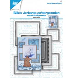 6002-1562 - Bille's vierkante achtergronden - Joy Crafts