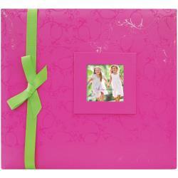Scrapalbum Roze met groene strik - met passepartout - 12 x 12 inch - MBI