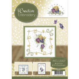 CB10002 Creative Embrodery - Blooming Summer - Marieke Design