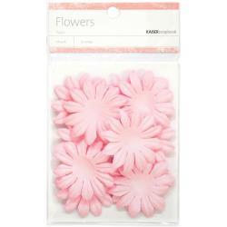 "SB829 Paper Flowers 1.97"" (5cm) 25 stuks - Pink - Kaisercraft"