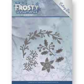 JAD10049 Snij- en embosmal - Frosty Ornaments - Jenine's Art