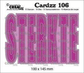 CLCZ106 Sterkte snijmal - Crealies