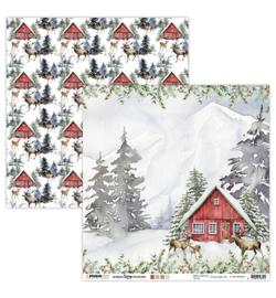 SL-USC-SCRAP63 - SL Scrap Ultimate Scrap Christmas Collection nr.63 - Studio Light - PAKKETPOST!