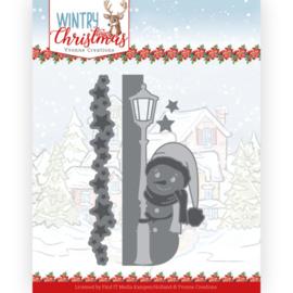 YCD10245 Snij- en embosmal  - Wintery Christmas - Yvonne Creations