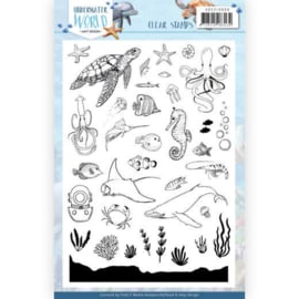 ADCS10068 Clearstempel - Under Water World - Amy Design