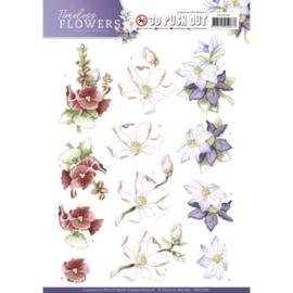 SB10260 Stansvel A4 - Timeless Flowers - Marieke Design