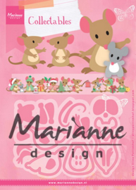 COL1437 Collectable - Muis - Marianne Design