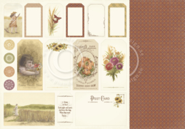 PD9612 Scrappapier dubbelzijdig - Summer Falls into Autumn - Pion Design