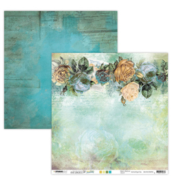 JMA-NA-SCRAP36 - JMA Scrap Roses & vintage pattern New Awakening nr.36 - PAKKETPOST!
