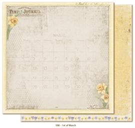 590 Scrappapier dubbelzijdig - Vintage Spring - Maja Design