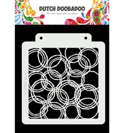 470.715.179 - Dutch Mask Art Grunge Circles - Dutch Doobadoo