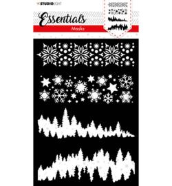 SL-ES-MASK36 - SL Mask Christmas Never ending star Essentials nr.36 - Studio Light