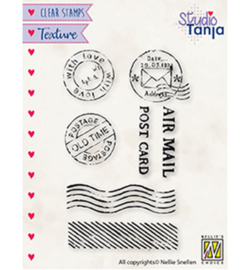 TXCS020 Clearstempel - Post - Nellie Snellen