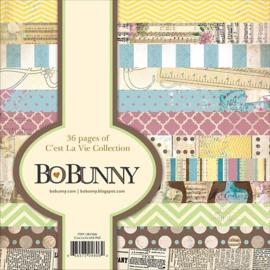 Paperpad 15,2 x 15,2 cm -  C'est La Vie -  Bo Bunny
