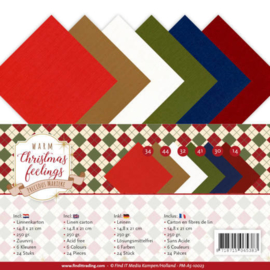 PMA510023 A5 karton - Warm Christmas Feelings - Marieke Design