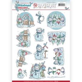 SB10277 Uitdrukvel A4  - Christmas Dreams - Yvonne Creations