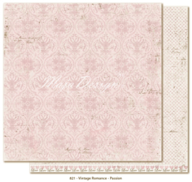 821 Scrappapier dubbelzijdig - Vintage Romance - Maja Design