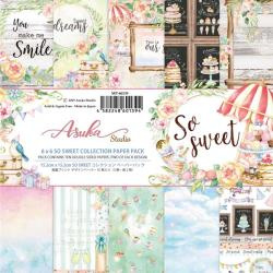 Paperpad 15x15cm - So Sweet - 12 vel dubbelzijdig - Memory Place