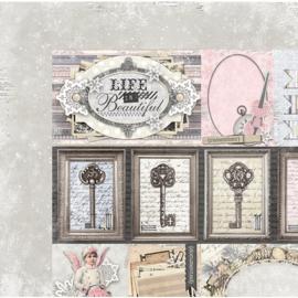 20901827 Scrappapier dubbelzijdig - Winter Wishes - Bo Bunny
