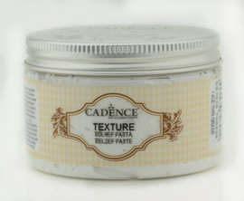 Texture Relief Pasta wit 150ml - Cadence