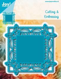 6002-0630 Snij- en embosmal - Joy Crafts