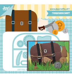 6002-1500 Snij- en embosmal Koffer - Joy Crafts