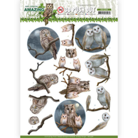 SB10486 Stansvel  A4 - Amazing Owls - Amy Design