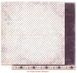 1161 Scrappapier dubbelzijdig -  Tropicial Garden - Maja Design